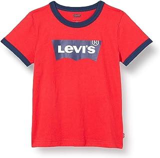 Levi's Kids Boy's LVB BATWING RINGER TEE A073 T-Shirt