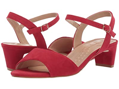 Walking Cradles Lydia (Red Suede) Women