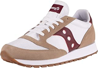 Chaussures Saucony Jazz Original Vintage Tan/White/Wine sneakers unisex