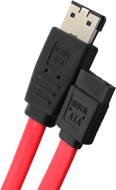 IO Crest SY-CAB40019 18-Inch SATA to eSATA Transition Cable