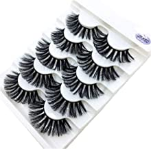 5 Pairs Real Mink Fake Eyelashes 3D Natural False Eyelashes Mink Lashes Soft Eyelash Extension Makeup,Jkx80