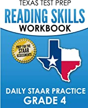 TEXAS TEST PREP Reading Skills Workbook Daily STAAR Practice Grade 4: Preparation for the STAAR Reading Tests
