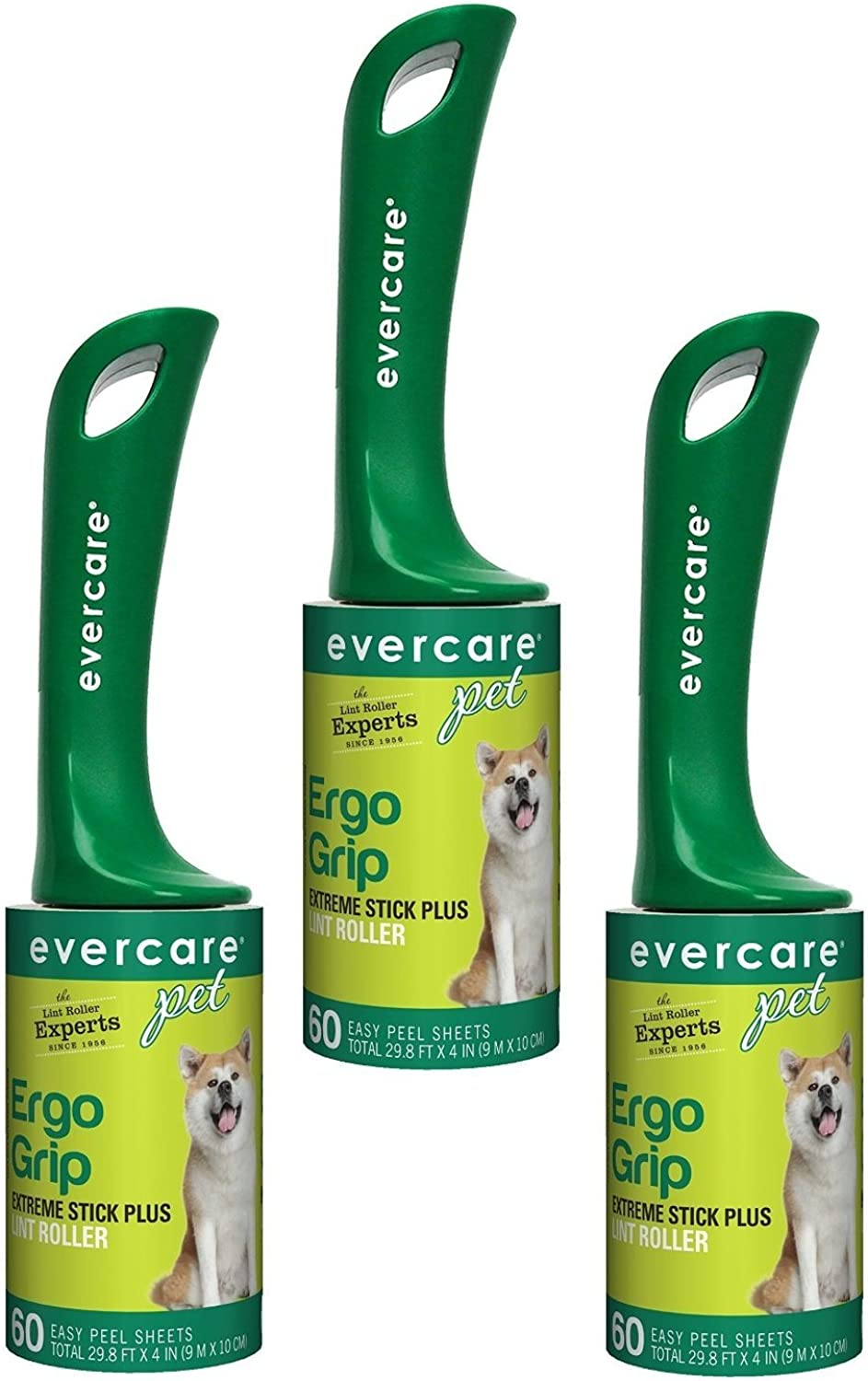 Evercare ExtraSticky Pet Hair Rollers (3 Pack)