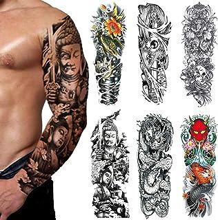 Full Arm Temporäre Tattoos - Temporär Tätowierung Klebe T