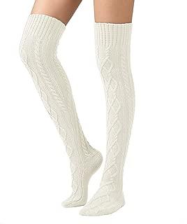 Best wide leg thigh high socks Reviews