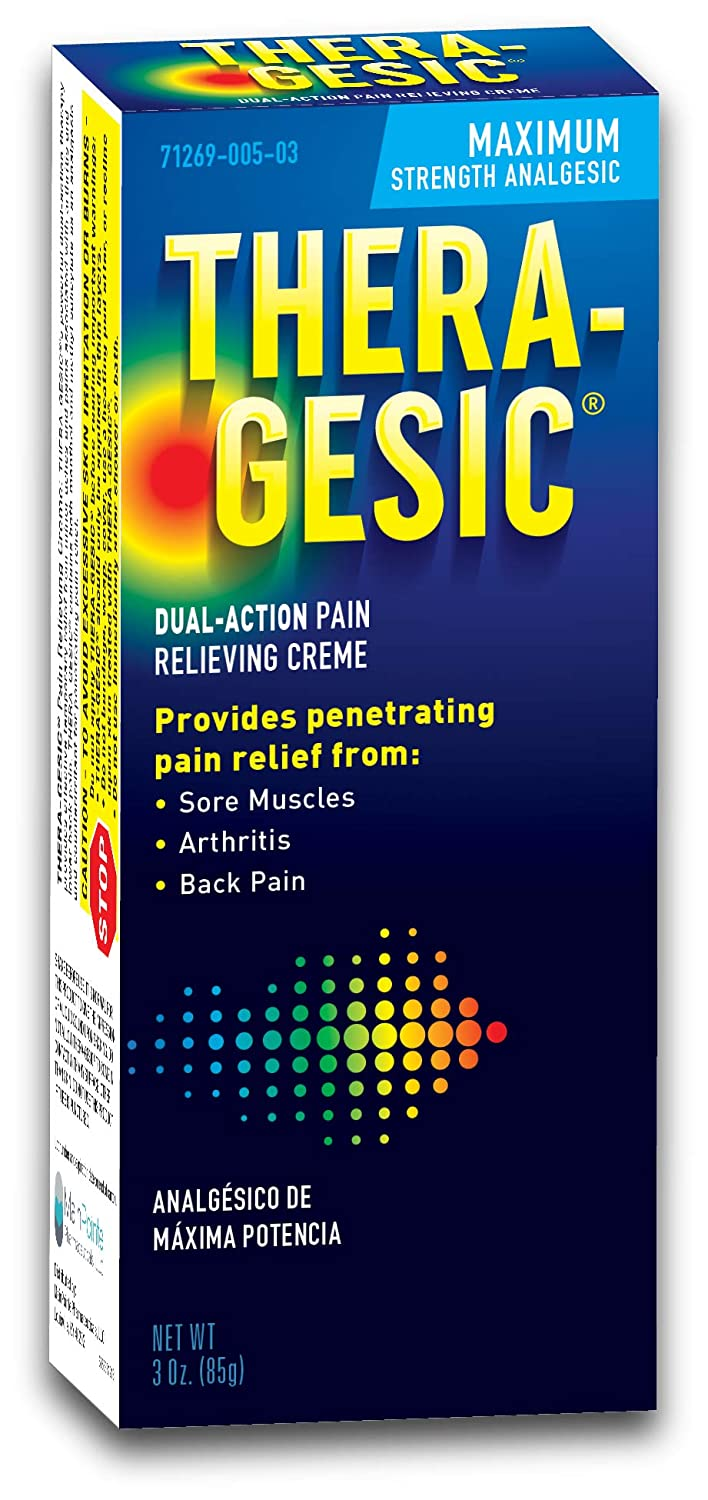 Mission Pharmacal Thera-Gesic Maximum price High material Cr Strength Pain Relieving