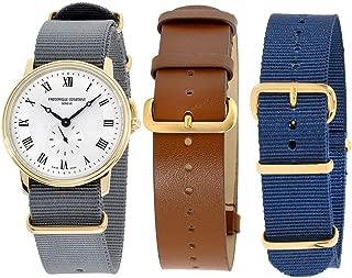 Frederique Constant Slimline Quartz Movement Silver Dial Men's Watch FC-235M4S5-GRYSET2