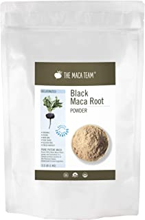 Sponsored Ad - The Maca Team Gelatinized Black Maca Powder, Fair Trade, Vegan, Non-GMO, Fresh Harvest Maca, 2.2 Pounds, 11...