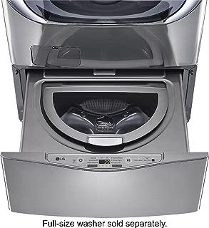 LG WD100CV 1.0 Cu. Ft. Graphite SideKick Pedestal Washer