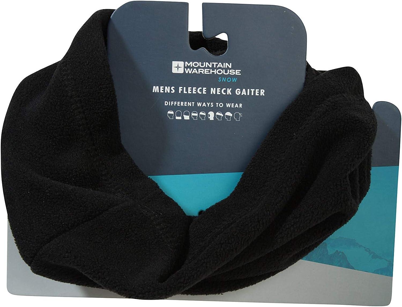 Mountain Warehouse Fleece Neck Gaiter - Warm Winter Neck Warmer Scarf
