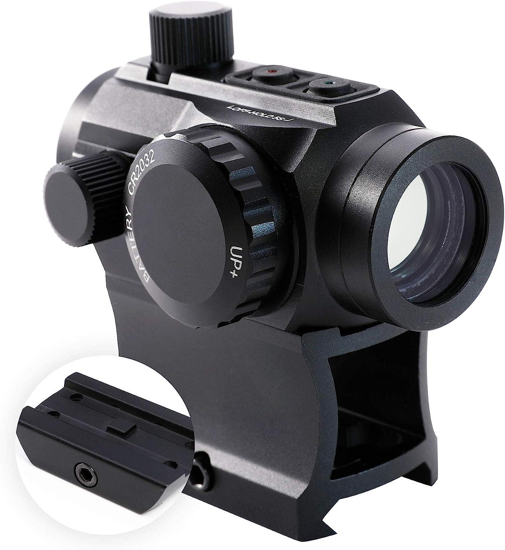 Hiram Green Red Boston Mall Dot Sight 1x20mm Reflex Micro Scope MOA Selling Rifle 4