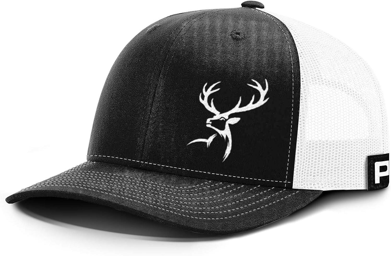Printed Kicks Deer Hunting Back Mesh Hat Outdoor Hunter Cap