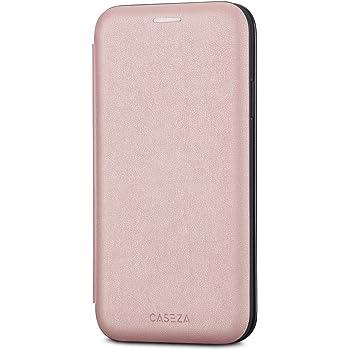CASEZA Funda iPhone 11 Pro Rosa Oro Tipo Libro Piel PU Case Cover ...