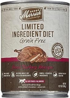 Merrick Limited Ingredient Diet - Real Turkey Recipe - 12.7 Oz - 12 Ct