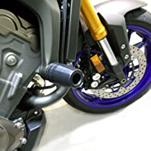 Shogun 2014-2016 Yamaha FZ09 2015-2017 FJ09 2016-2019 XSR900 Black Complete No Cut Frame Slider Kit Includes No Cut Frame Sliders Swing Arm Spools and Bar Ends - 755-6399 - MADE IN THE USA