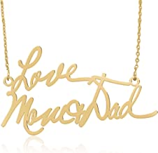 Personalized Handwriting Necklace Handwriting Jewelry, Custom Signature Necklace - Your Actual Handwriting - 925 Sterling Silver