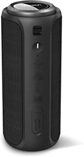 Bluetooth Speakers, Vanzon Climber-Z Portable Bluetooth V5.0 Wireless Speaker, with 30W Rich Bass& 360° Surround Sound, 16 Hr Playtime, IPX7 Waterproof, for Travel, Camping, Shower and Outdoors