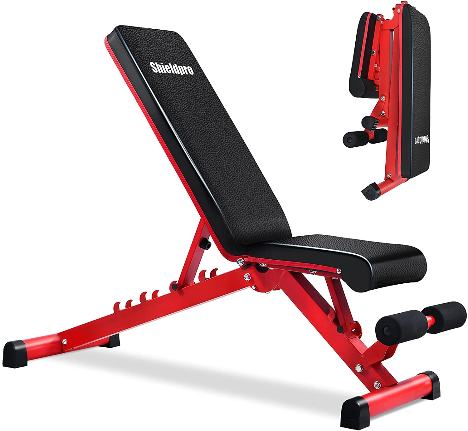 Shieldpro Adjustable Fast Folding Workout Bench $69.99 Coupon