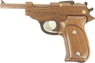 Handcrafted Rubber band Gun Grasp GRASP Walther P38