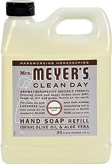 Mrs. Meyer's 651318EA Clean Day Liquid Hand Soap Refill, Lavender, 33 oz