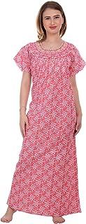 CIERGE Women's Cotton Fabric Nighty