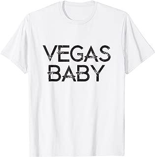 Las Vegas Baby - Novelty Souvenir Vacation T Shirt