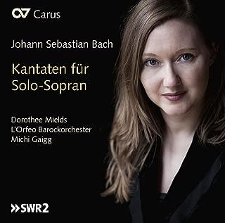 bach solo cantatas soprano