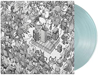 Dance Gavin Dance - Acceptance Speech Exclusive Limited Edition Electric Translucent Sea Blue Color Vinyl LP