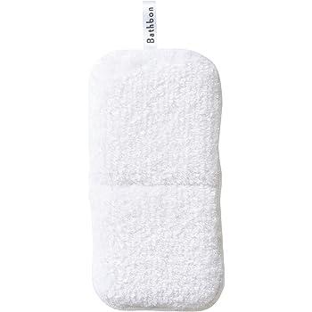 山崎産業 お風呂掃除 スポンジ バスボンくん はさめる 抗菌 ホワイト 178704