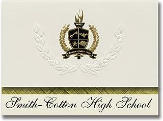 Signature Announcements Smith-Cotton High School (Sedalia, MO) Graduation Announcements, Presidential style, Basic package...