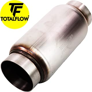 "TOTALFLOW 947 Mini Muffler 409SS | 5"" Round Width 