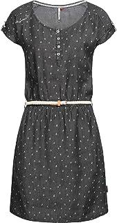 465d8ec2c586a0 Ragwear Damen Kleid Dress Jeanskleid Sommerkleid Jerseykleid Freizeitkleid  Geena 2 Farben XS-XL