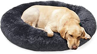 Calming Dog Beds for Small Medium Large Jumbo Size Dog Anti Anxiety Fluffy Doggie Bed for 10-150 Lbs Pet Dogs Cats Small t...
