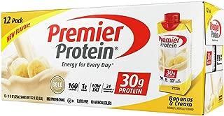 Premier Protein High Protein Shake, Bananas & Cream (11 fl. oz., 12 pack) xMKOW