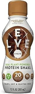 Evolve Protein Shake, Mellow Mocha, 20g Protein, 12 Fl Oz (Pack of 12)