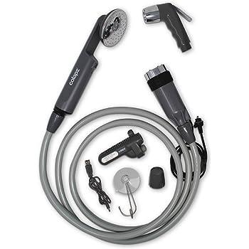 Leisure 2200 mAh RECHARGEABLE portable Camping Outdoor Portable Eau Lavage Douche