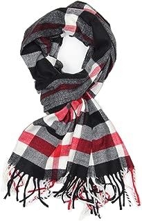 Soft & Warm Tartan Plaid Checked Cashmere Feel Winter Scarf Unisex