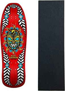 Powell Peralta Skateboard Deck Guerrero Mask Red Re-Issue W/Grip