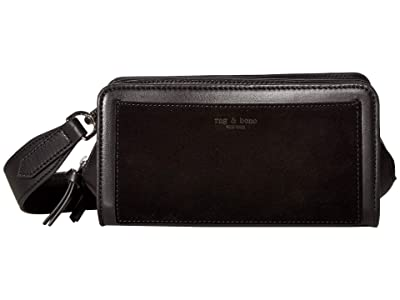 rag & bone Capture Crossbody (Black) Handbags