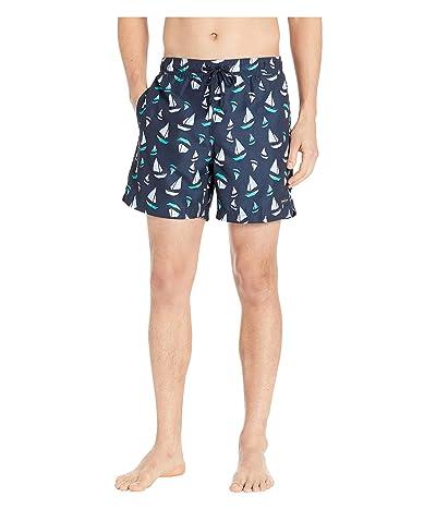 Perry Ellis Printed Swim Shorts (Powder Pink 2) Men