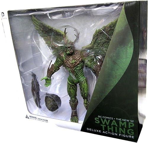 increíbles descuentos DC Collectibles Comics The New 52 Swamp Thing Deluxe Deluxe Deluxe Action Figure  últimos estilos