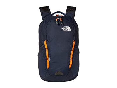The North Face Vault Backpack (Urban Navy/Persian Orange) Backpack Bags