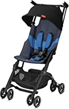 Best gb Pockit+ All-Terrain, Ultra Compact Lightweight Travel Stroller with Canopy and Reclining Seat in Night Blue Review
