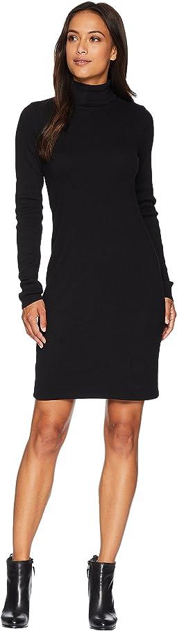 Heritage Knit Turtleneck Dress