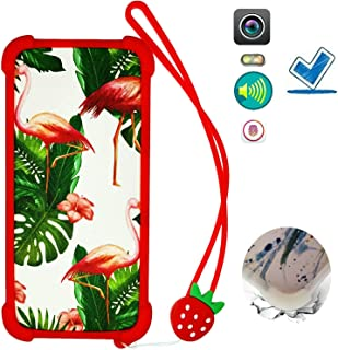 HYJKB Case for Htc Desire 728g Case Silicone border + PC hard backplane Cover HLN