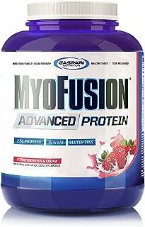 Gaspari Nutrition Myofusion Advanced Protein, Strawberries and Cream, 4 Pound