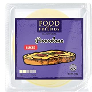 Food for Friends Provolone Sliced Cheese - Chilled, 160 g