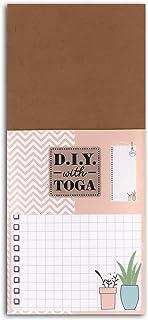 D.I.Y with Toga Bloc-Notes To-Do List, Autre, Multicolore, 8 x 18.5 x 1.3 cm
