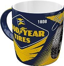 Nostalgic-Art retro kaffemugg – Goodyear – Eagle Tire, stor licenskopp Goodyear motiv, vintage presentidé för bil- och mot...