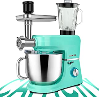COOKLEE 6-IN-1 Stand Mixer, 8.5 Qt. Multifunctional...
